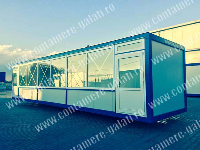 containere magazin lung Bacau